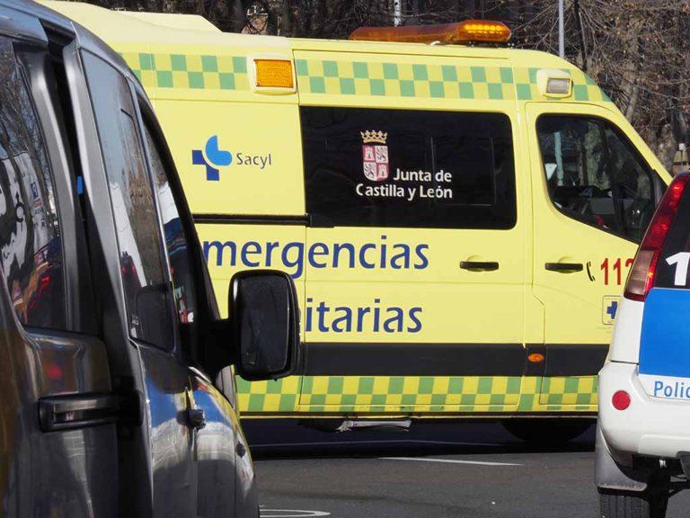 Un motorista fallece al salirse de la carretera en Palazuelos