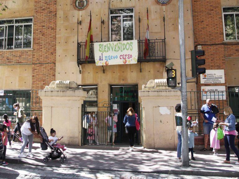 Un grupo del CEIP 'Diego de Colmenares' de Segovia, en cuarentena