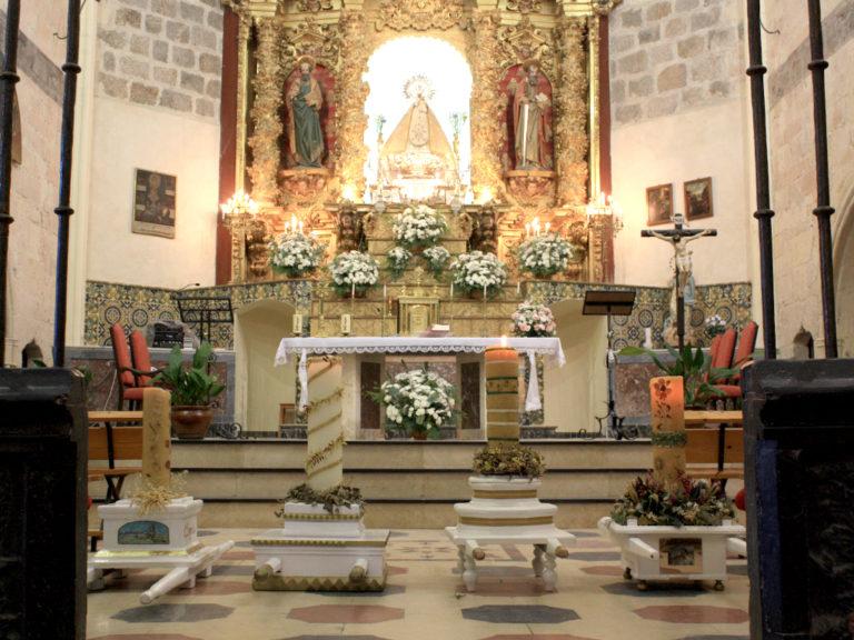Santa María vive un Ofrecimiento de los Cirios atípico por la COVID-19