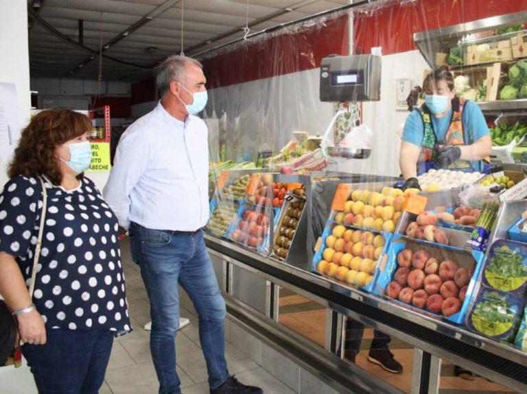 El delegado territorial visita Cantalejo y Carrascal del Río tras el confinamiento