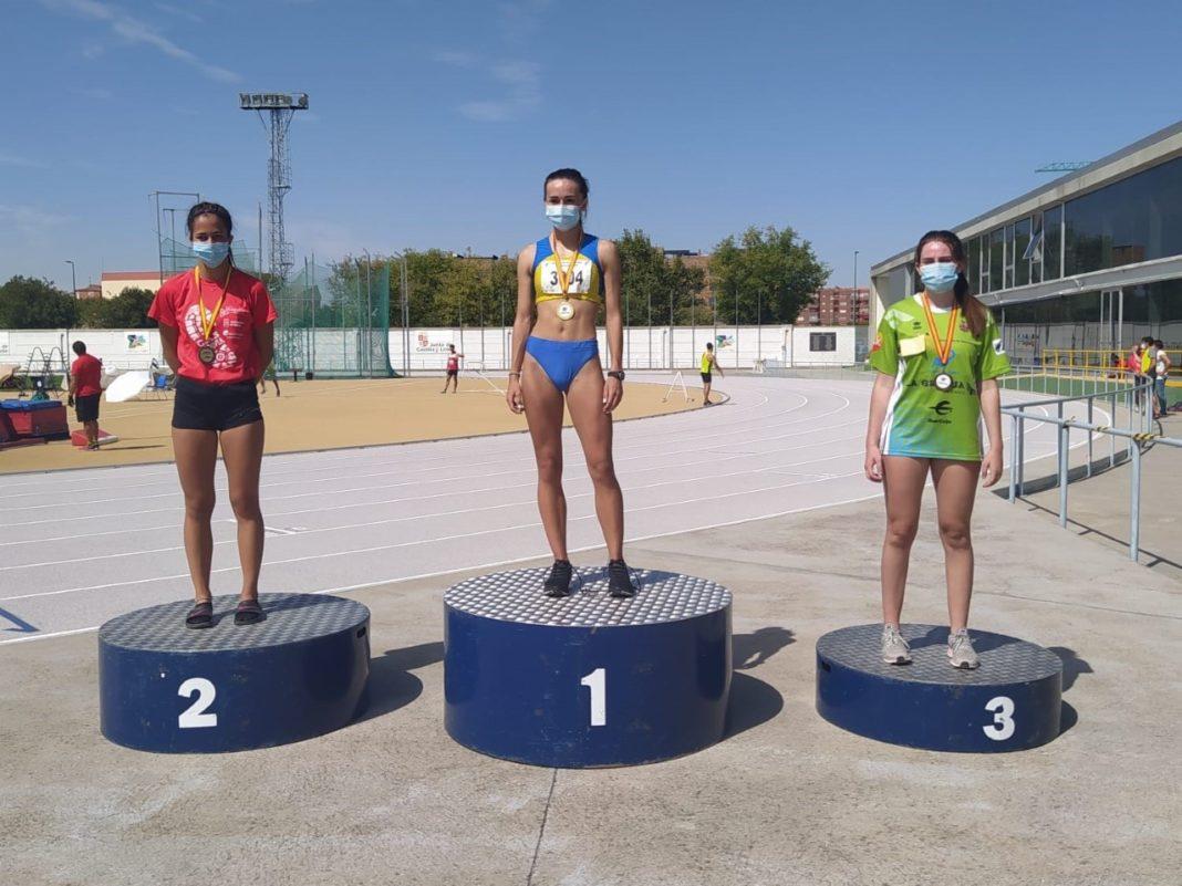 Sofía Martín se proclama campeona autonómica con marca mínima nacional