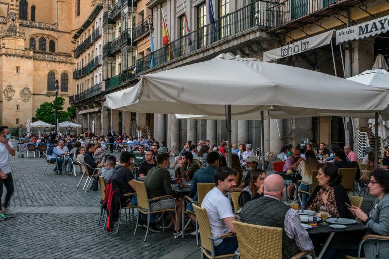 Las restricciones en Madrid amenazan el turismo en Segovia
