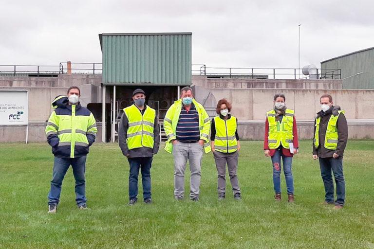 Ayuntamiento y Consorcio de Medio Ambiente estudian el tratamiento del residuo del contenedor marrón