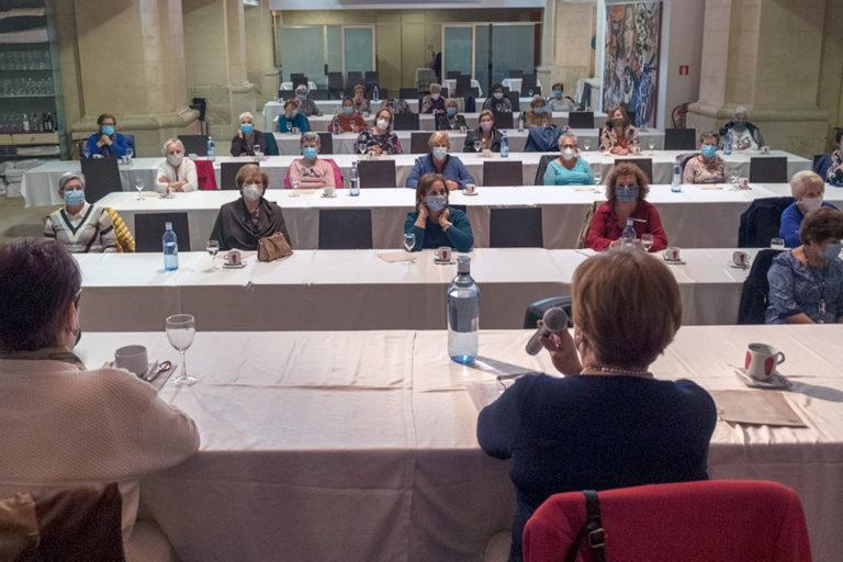 Mercedes Herrero deja la Presidencia de la asociación 'María del Salto' después de 11 años