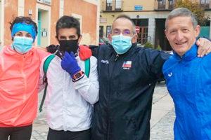 La carrera de Caja Rural congregó a 1.208 atletas y recaudó 10.000 euros