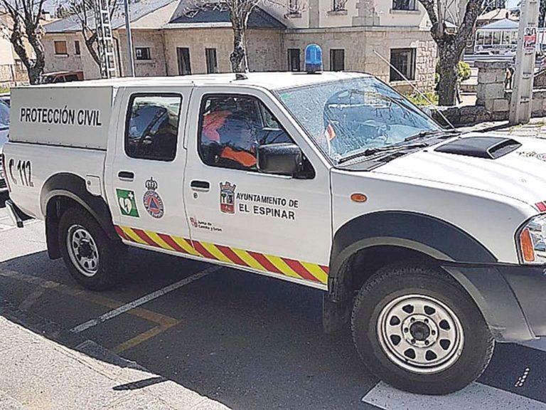 Protección Civil de El Espinar, en alerta ante los rebrotes de Covid-19