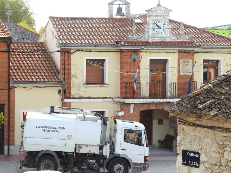 La Comunidad de Fuentidueña mejora la recogida de residuos sólidos