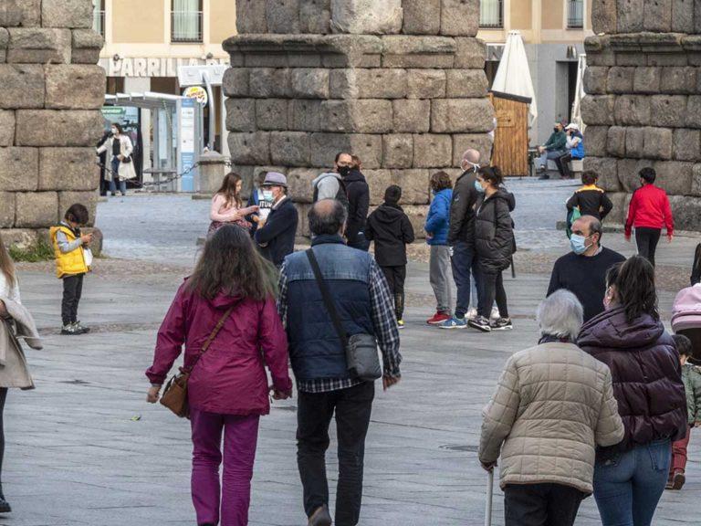 Segovia presenta sus mejores datos en relación a la Covid-19 desde hace más de un mes