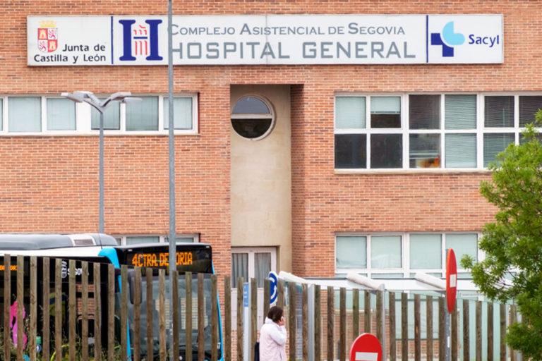 El Hospital de Segovia registra una nueva muerte por Covid-19