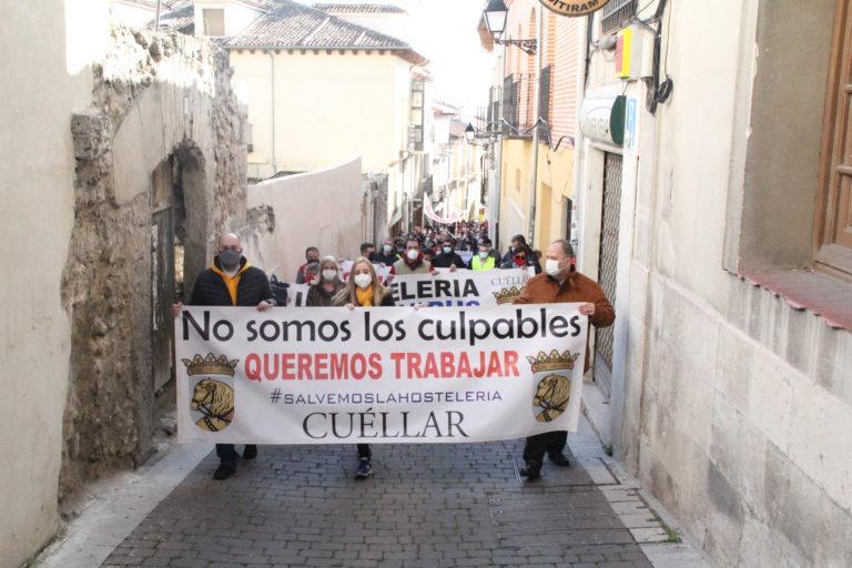 La hostelería de Cuéllar pide ayuda urgente y al unísono