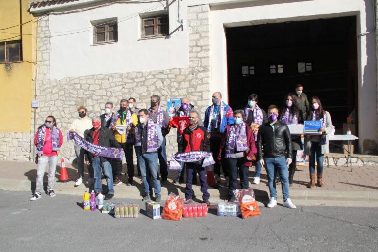 La Peña Blanquivioleta Villa de Cuéllar inicia una recogida de alimentos