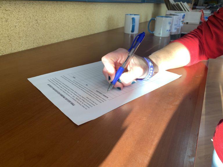 El alcalde de Cuéllar pide que se siga firmando la petición de PCRs