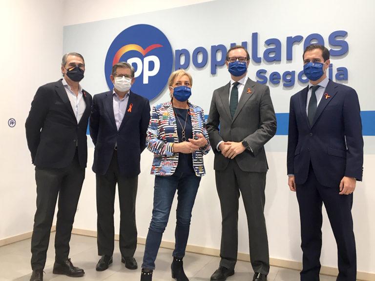 El PP busca 8,2 millones para Segovia en los Presupuestos