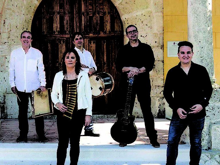 Abrojo Folk presenta su disco en el auditorio 'Martín Frías' de Coca