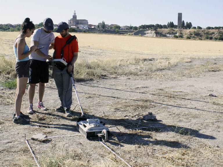La tecnología revela las dimensiones del palacio-villa de Teodosio
