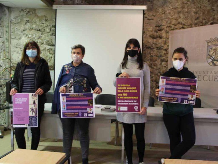 El Ayuntamiento de Cuéllar presenta un 25N lleno de propuestas