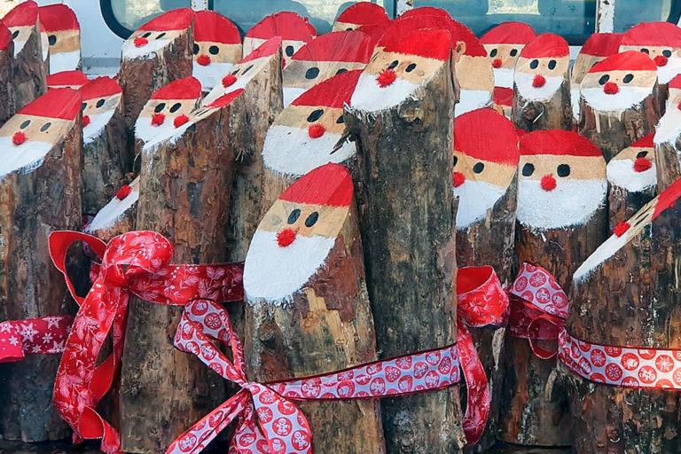 Los comerciantes llevan la Navidad a San Rafael