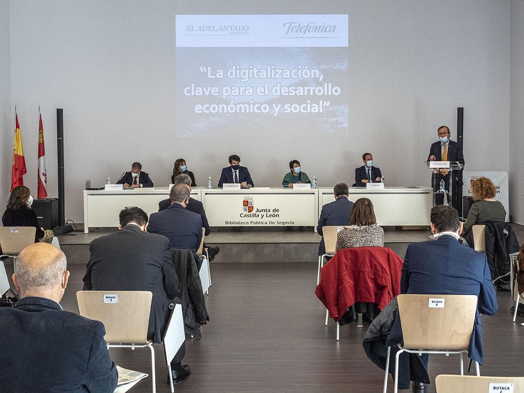 Suárez-Quiñones, Luquero, Ortega, De Urquía y Alonso ponen en valor la importancia de la digitalización