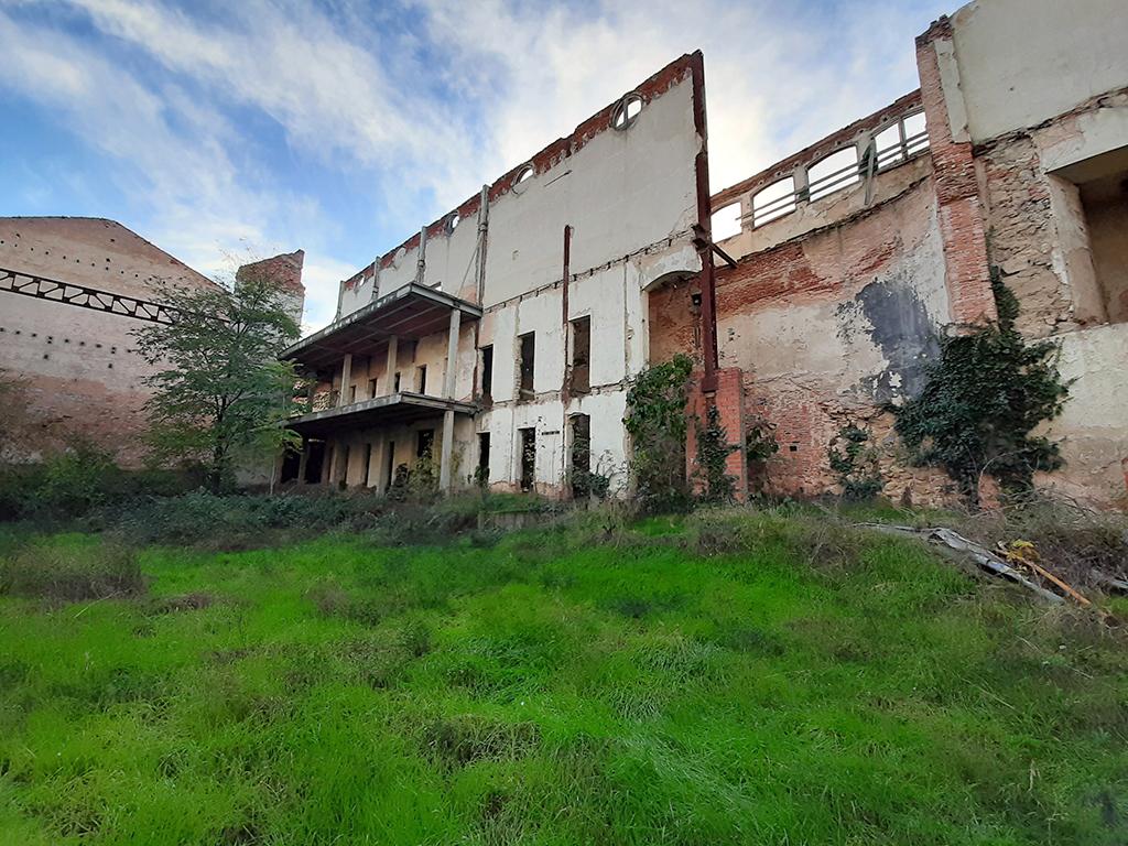 La Muralla cobra protagonismo en la recuperación del Teatro Cervantes