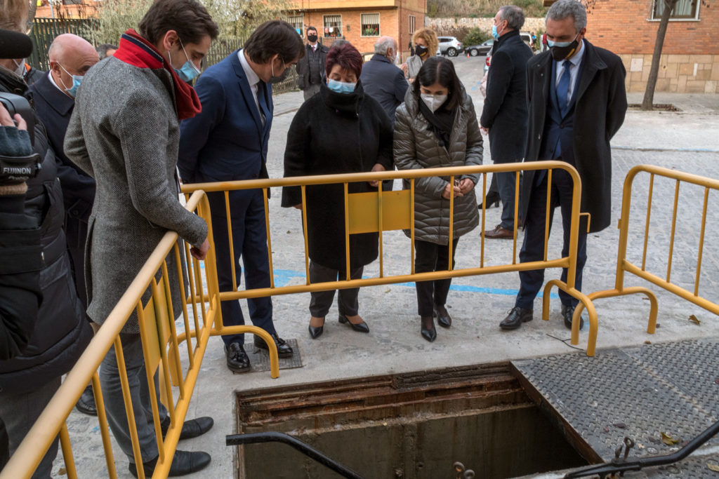 La ministra Darias destaca el rápido apoyo a Segovia ante una emergencia