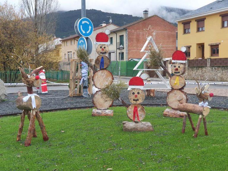 Creatividad y amplia participación de 'Decora tu entorno' en El Espinar