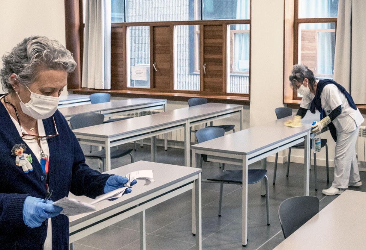 Las UCI evitan la sobresaturación con el traslado de pacientes a otros hospitales
