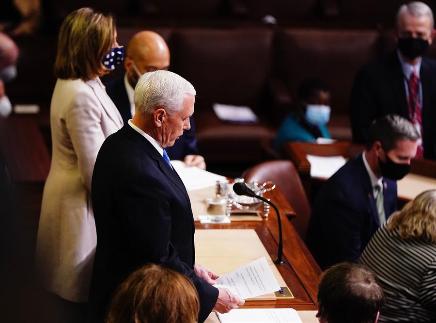 🔴 EN DIRECTO | El Congreso ratifica a Joe Biden como presidente electo