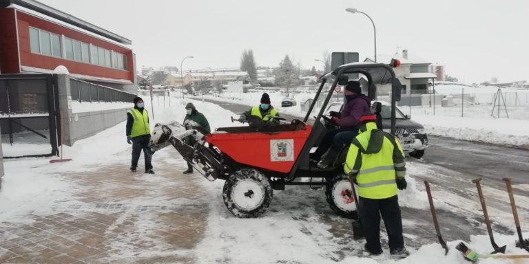 El Ayuntamiento de El Espinar agradece el esfuerzo durante la nevada