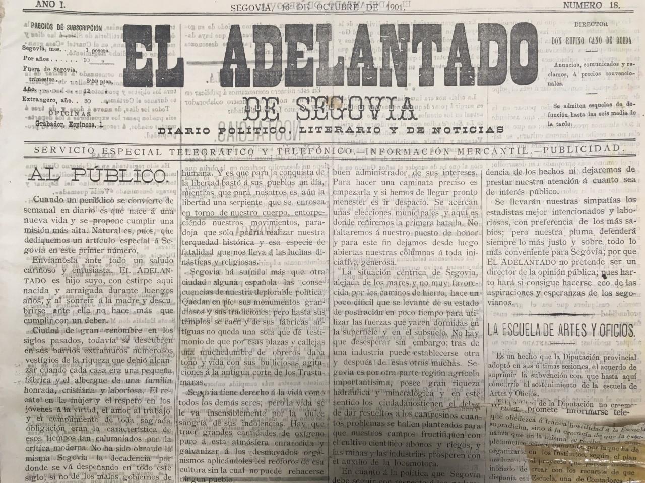 El Rey presidirá el comité de honor del 120 aniversario de EL ADELANTADO