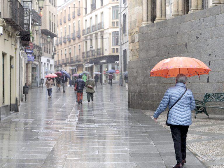 Las borrascas dejan lluvia diez de los 12 primeros días del mes