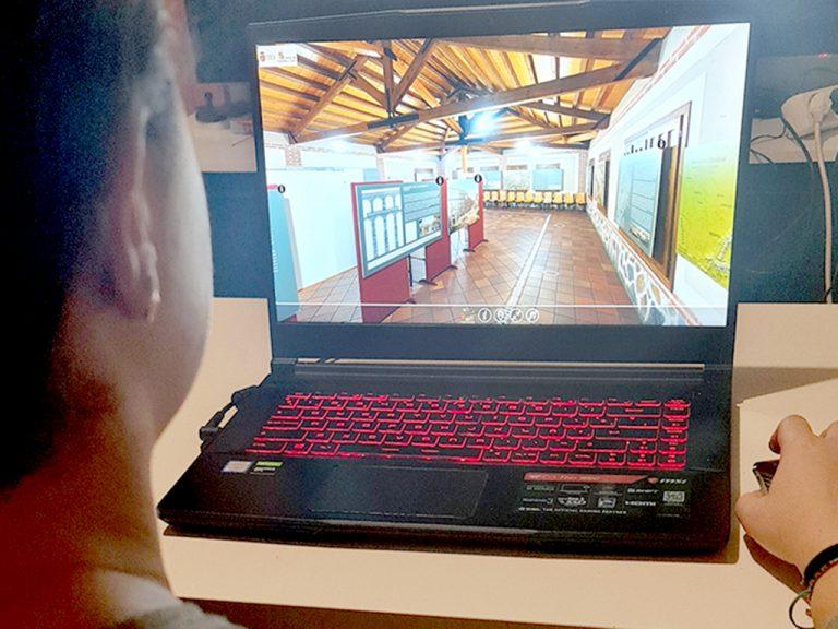 Visita virtual en 360 grados de la exposición 'Imágenes de la Antigüedad' en Coca