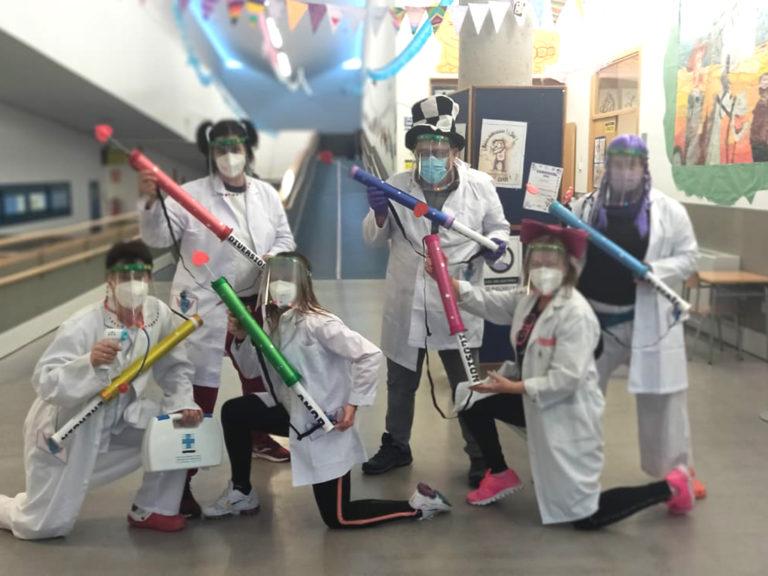 Un carnaval diferente en los colegios