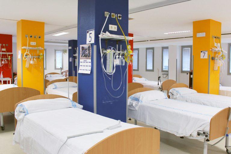 El Hospital recupera espacios para pacientes ajenos a la pandemia