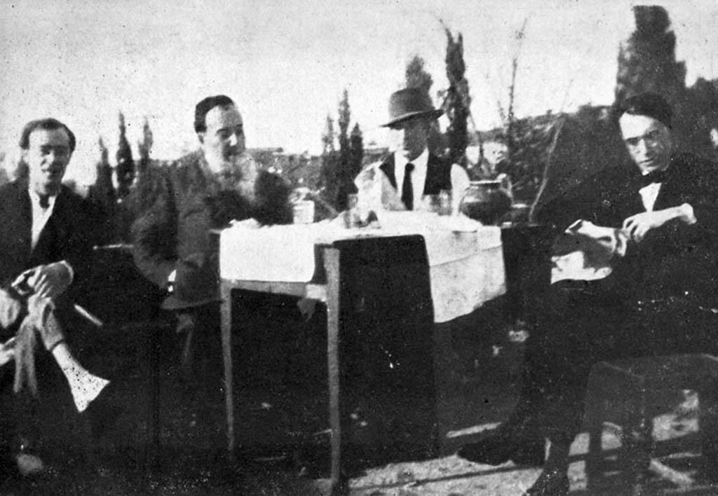 Tertulia de San Gregorio Barral Machado Torreajero y Otero
