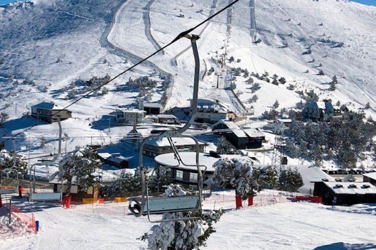 La Pinilla estudia abrir para uso turístico ante la falta de nieve