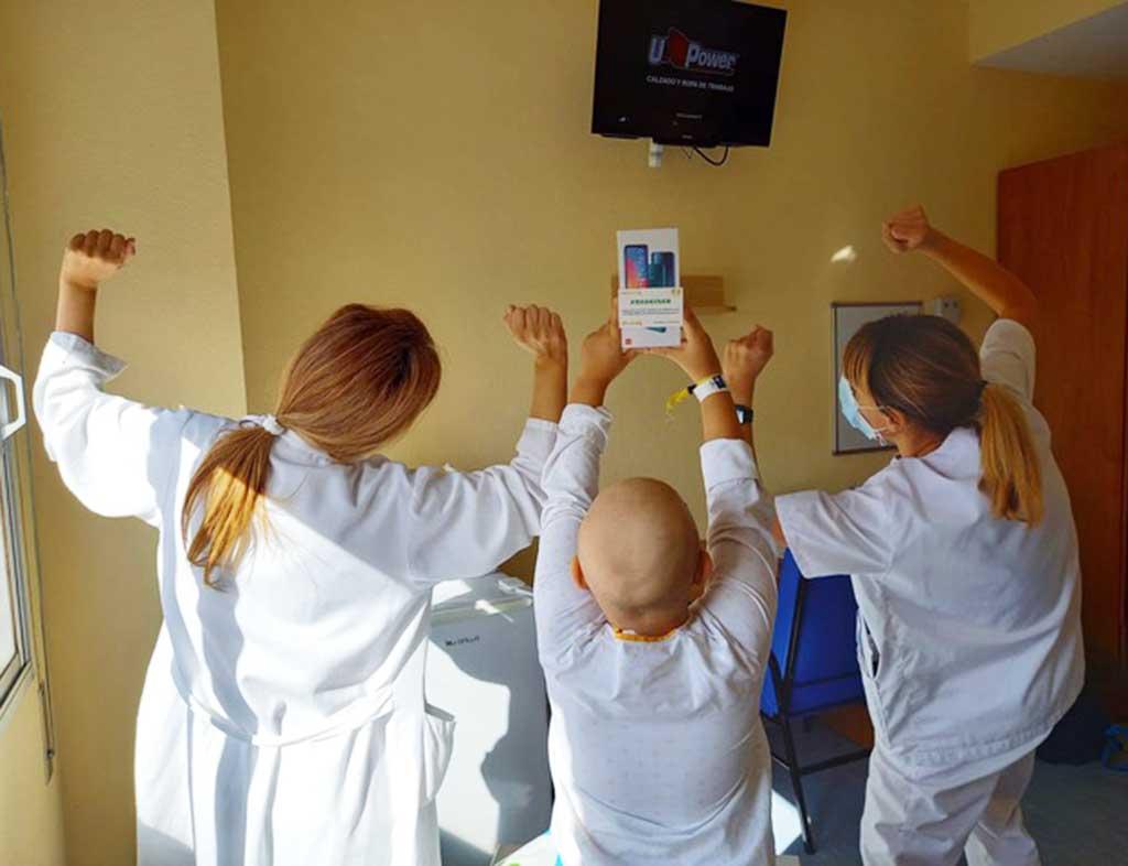 ninos hospitalizados cancer oncologia