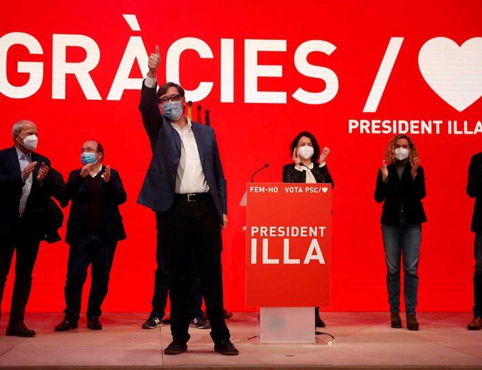 salvador illa elecciones cataluna