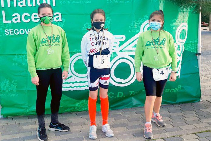 triatlon la lastrilla lacerta alevin femenina