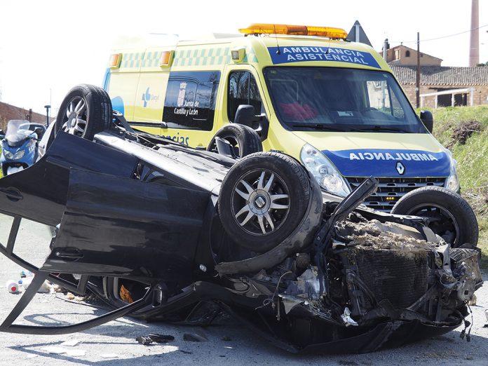 112 ambulancia accidente