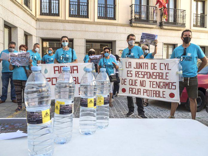 protesta agua lastras