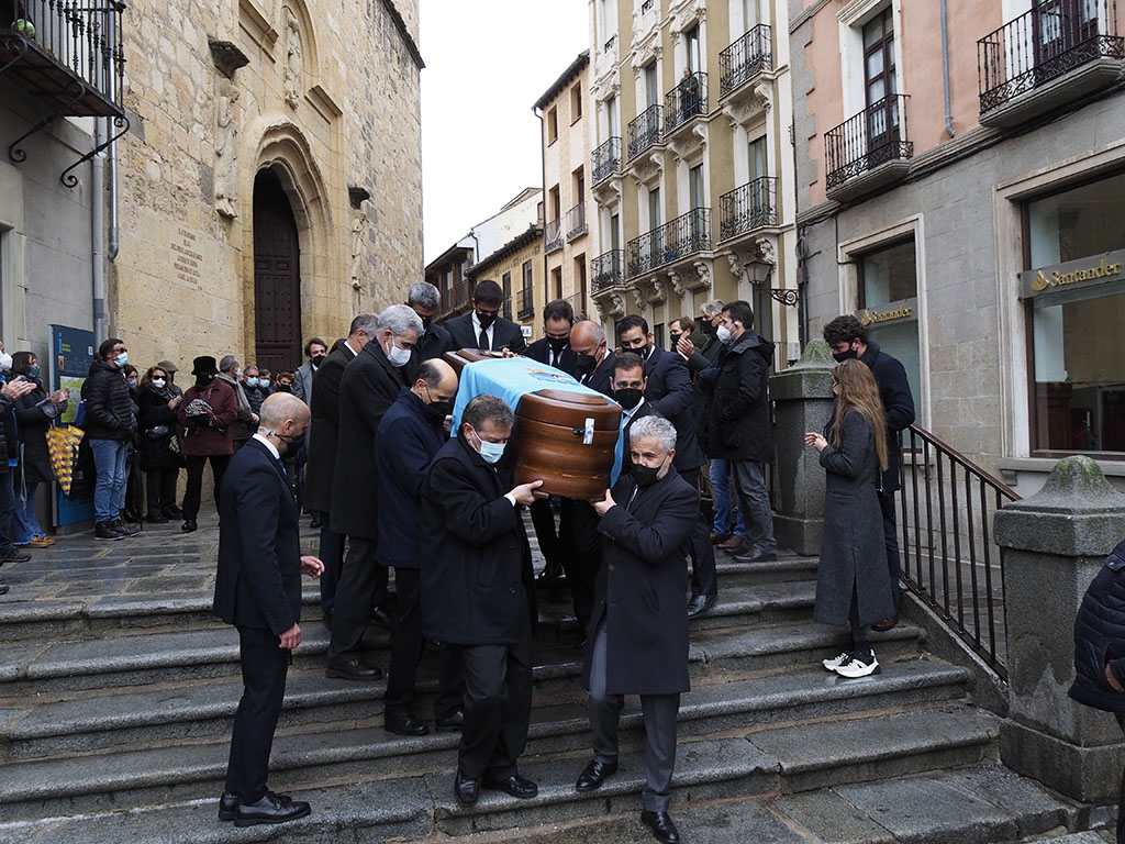 Funeral José Luis Huertas