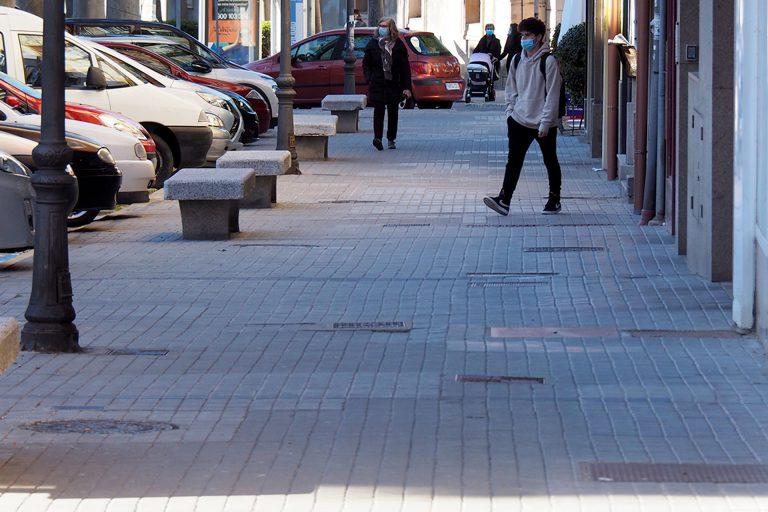 Las obras de renovación de aceras de la avenida de la Constitución comienzan el lunes