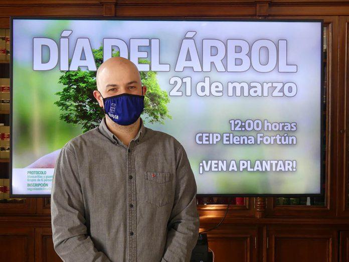 Dia del Arbol Ayuntamiento de Segovia