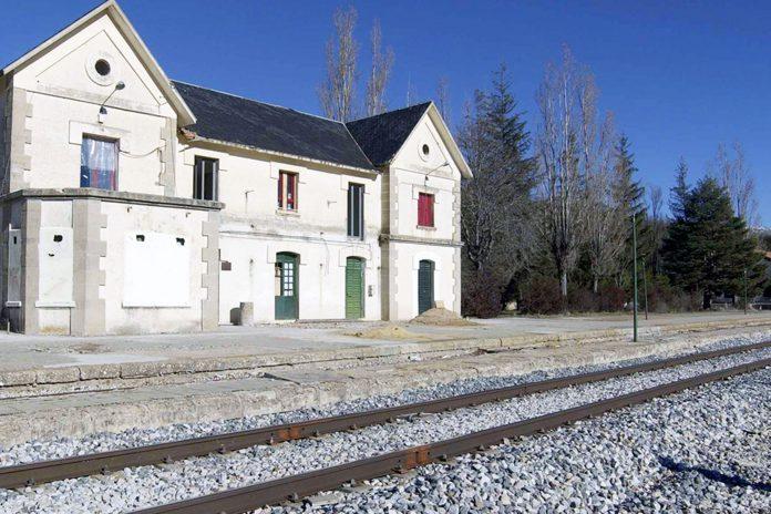 Estacion tren riaza