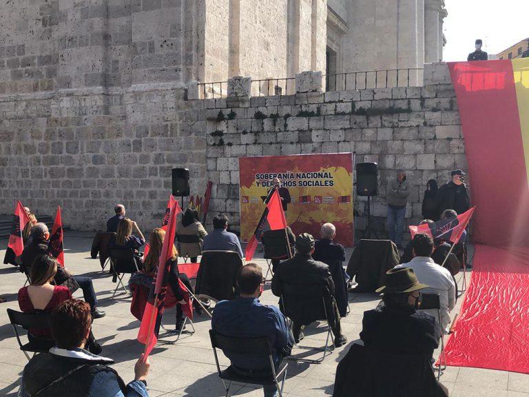 Identificadas 35 personas que viajaban de Madrid a Valladolid para participar en un acto de Falange