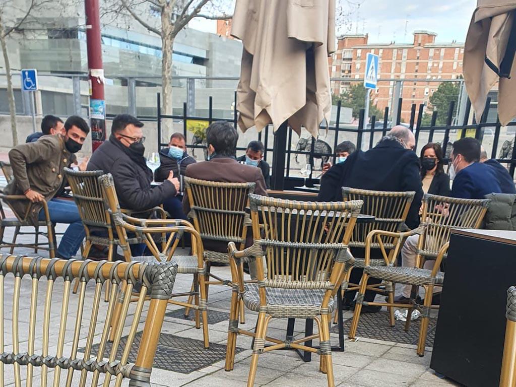 Junta de Castilla y Leon bar
