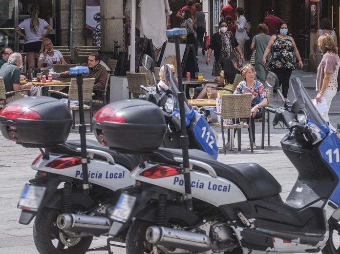 Policia Local Terrazas Coronavirus