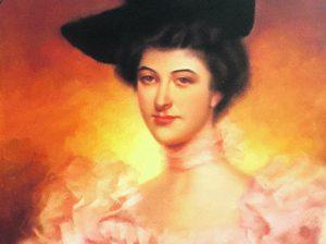Retrato de la marquesa de Zafra y vizcondesa de Matamala 1897