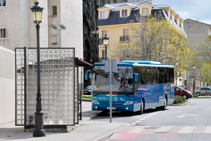 San Ildefonso Transporte Metropolitano Autobus Linecar KAM7556
