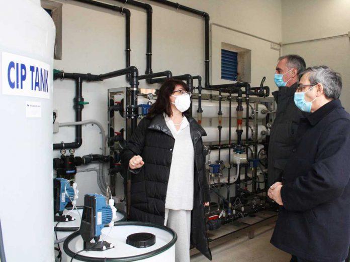 Visita planta de agua Valtiendas